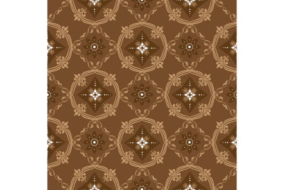 Indonesian Batik Graphic Backgrounds By cityvector91