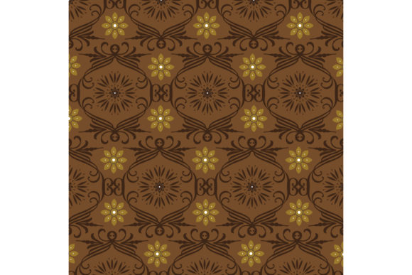 Javanese Batik Graphic Backgrounds By cityvector91