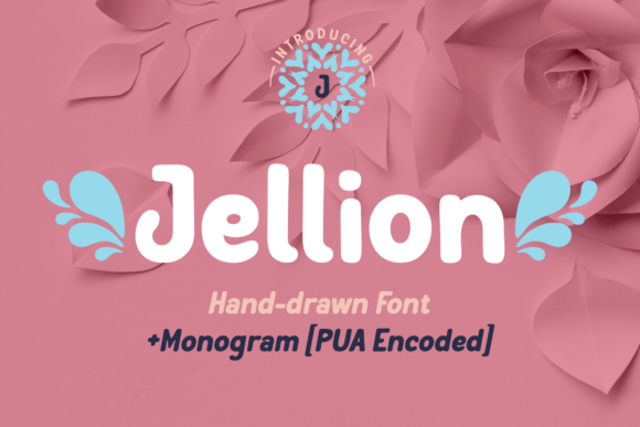 Print on Demand: Jellion Display Font By Jasm (7NTypes)