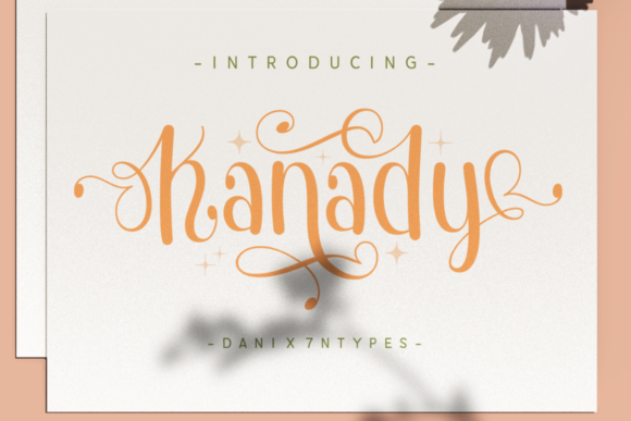 Print on Demand: Kanady Display Font By Dani (7NTypes)