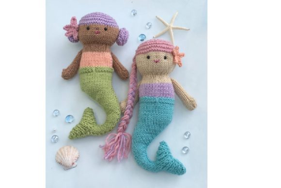 Aurora Mermaid amigurumi pattern - Amigurumi Today | 388x580