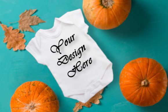 Mockup Baby Shirt Graphic Product Mockups By MockupsByGaby - Image 1
