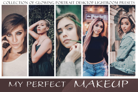 My Perfect Makeup Lightroom Presets Graphic Actions & Presets By liquid amethyst art