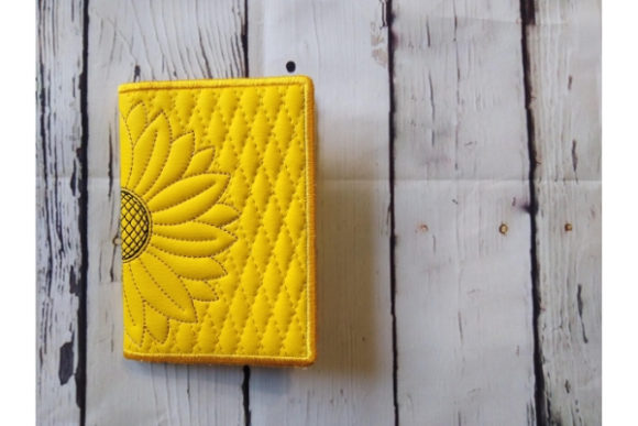 Passport Cover in the Hoop Sewing & Crafts Embroidery Design By ImilovaCreations - Image 3