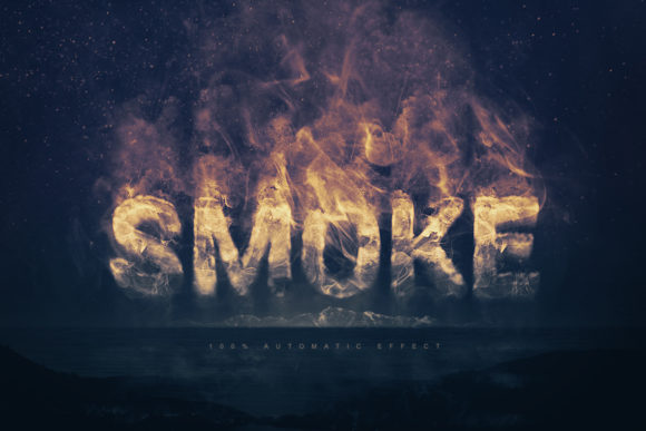 Real Smoke Logo Text Effect Graphic Scene Generators By Gianluca Giacoppo