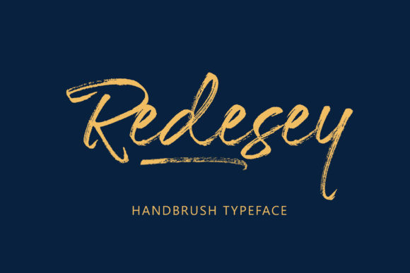 Print on Demand: Redesey Script & Handwritten Font By Amarlettering