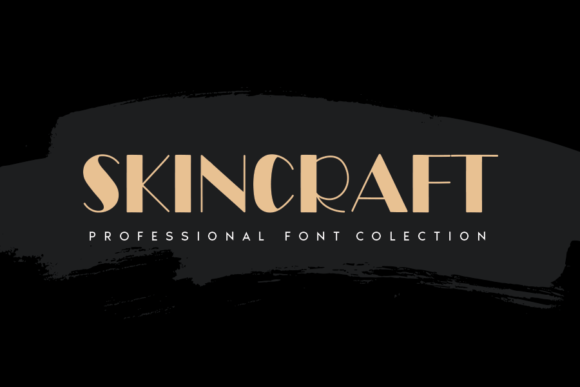 Print on Demand: Skincraft Sans Serif Font By Creativewhitee