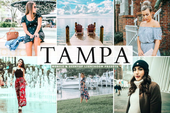 Print on Demand: Tampa Lightroom Presets Pack Graphic Actions & Presets By Creative Tacos
