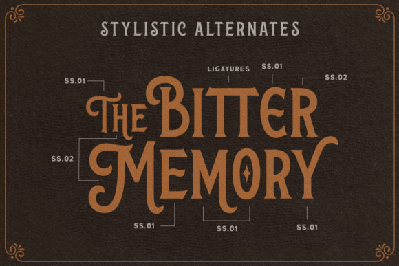 Print on Demand: The Wanters Display Font By letterhend - Image 4