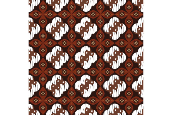 Tradisional Java Batik Graphic Backgrounds By cityvector91