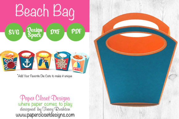 Print on Demand: Beach Bag Graphic 3D SVG By rushton_tracy - Image 1