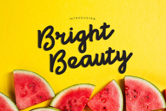 Print on Demand: Bright Beauty Script & Handwritten Font By madeDeduk