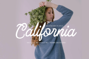 Print on Demand: California Script & Handwritten Font By staircasestudio20