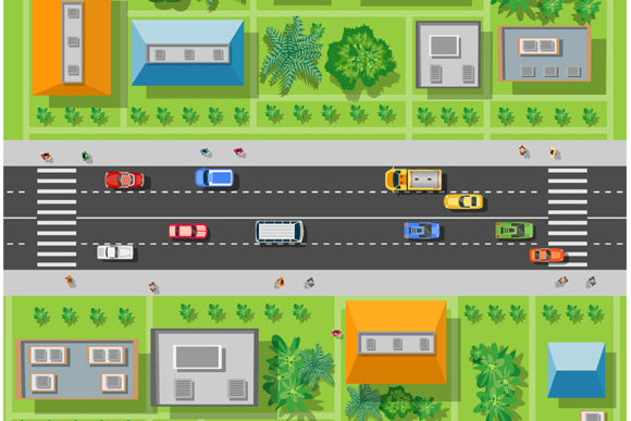 Print on Demand: Cars and Transport Graphic Illustrations By AlexZel