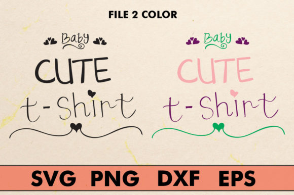 Print on Demand: Crafts Baby Cute T-shirt Graphic Crafts By YanIndesign