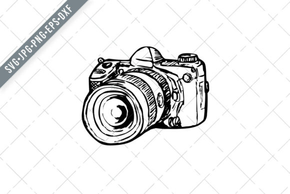 Print on Demand: DSLR Digital Still Image Camera Graphic Illustrations By patrimonio