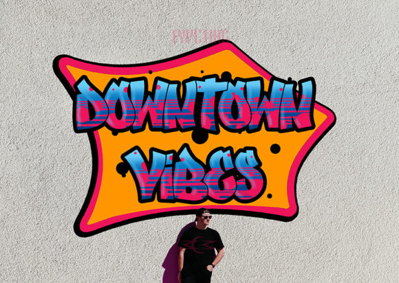 Print on Demand: Downtown Vibes Display Font By Typeting Studio - Image 1