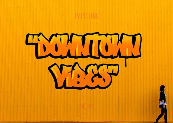 Print on Demand: Downtown Vibes Display Font By Typeting Studio - Image 2