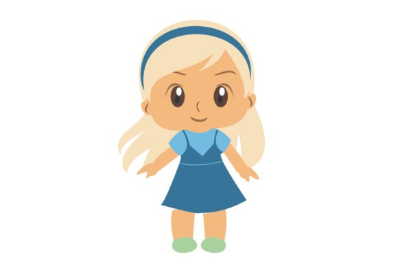 Girl Chibi Character Vector 13 Graphic Illustrations By harunikaart