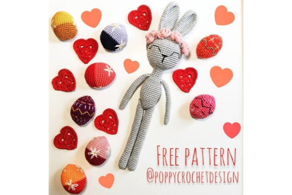Lovely Bunny Crochet Pattern Graphic Crochet Patterns By Needle Craft Patterns Freebies - Image 1