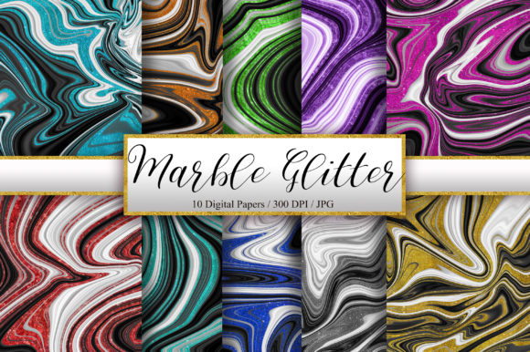 Marble Glitter Background Digital Papers Graphic Backgrounds By PinkPearly