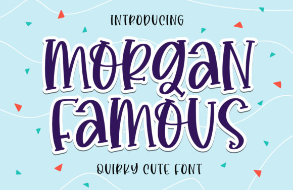 Print on Demand: Morgan Famous Script & Handwritten Font By Typefar