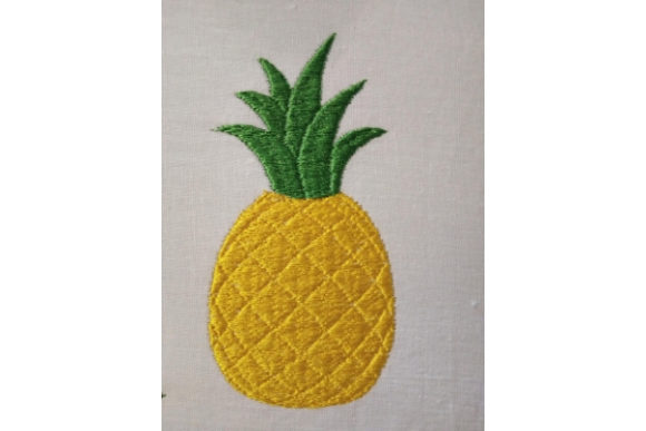 Pineapple Food & Dining Embroidery Design By ImilovaCreations - Image 2