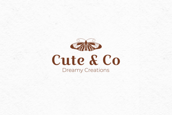 Print on Demand: Premade Logo Design with Butterfly Graphic Logos By Wallifyer