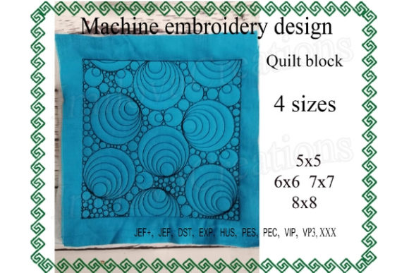 Quilt Block Embroidery