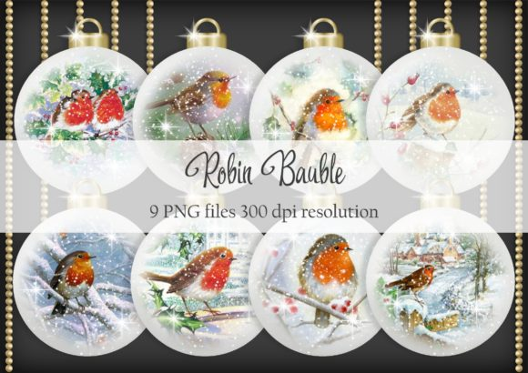 Print on Demand: Robin Bauble Graphic Objects By Simply Paper Craft