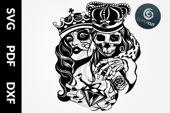 Skull King Graphic Illustrations By DuperCut