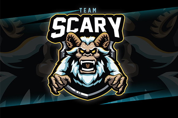 Scary Esport Logo Graphic Logos By cithu09