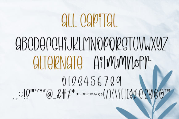 Print on Demand: Specialty Goods Script & Handwritten Font By BitongType - Image 10