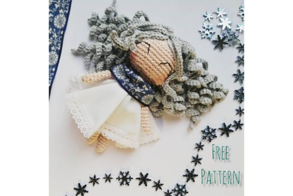 Winter Doll Crocchet Pattern Graphic Crochet Patterns By Needle Craft Patterns Freebies - Image 1