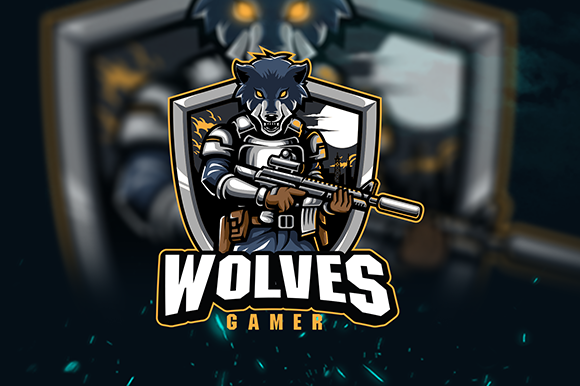 Wolves Esport Logo Graphic Logos By cithu09