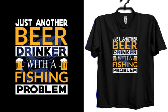 Just Another Beer Drinker Quote Graphic Print Templates By Storm Brain