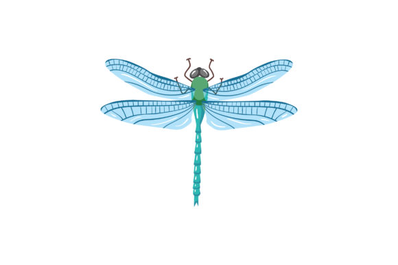 Dragonfly Animals Craft Cut File By Creative Fabrica Crafts - Image 1