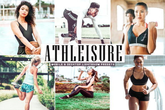 Print on Demand: Athleisure Pro Lightroom Presets Graphic Actions & Presets By Creative Tacos