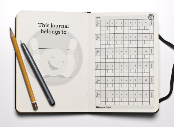 Print on Demand: Bowling Score Notebook KDP Interior Graphic KDP Interiors By anatarouca