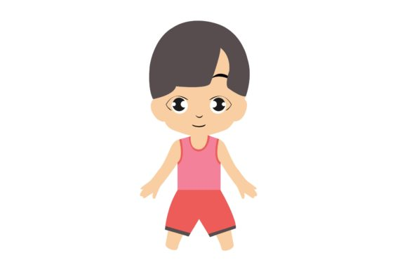 Boy Chibi Character Vector 9 Graphic Illustrations By harunikaart