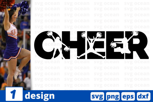 Print on Demand: Cheer Graphic Crafts By SvgOcean