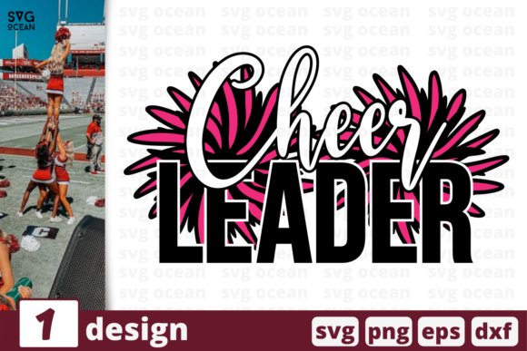 Print on Demand: Cheer Leader Graphic Crafts By SvgOcean