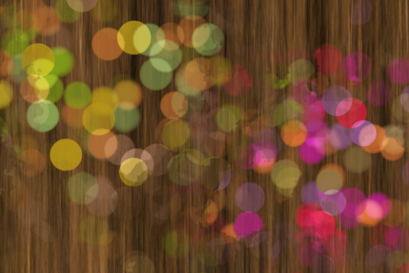 Decorative Bokeh Light Confetti Splashes Graphic Preview