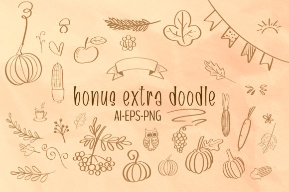 Print on Demand: Fall Harvest Script & Handwritten Font By BitongType - Image 2