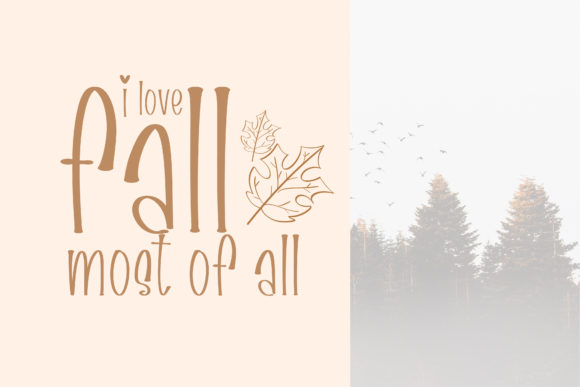Print on Demand: Fall Harvest Script & Handwritten Font By BitongType - Image 8