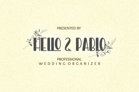 Print on Demand: Hello Pablo Display Font By Prast Art - Image 4