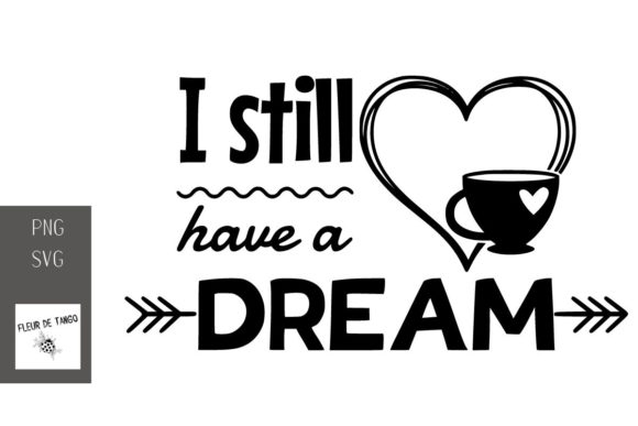 Print on Demand: I Still Have a Dream Graphic Print Templates By Fleur de Tango