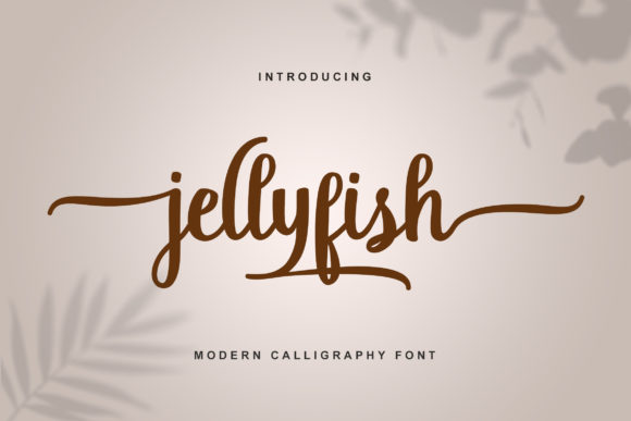 Print on Demand: Jellyfish Script & Handwritten Font By Best Font Studio