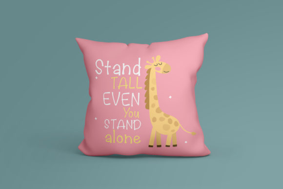 Print on Demand: Lovely Giraffe Script & Handwritten Font By vividdiy8 - Image 4