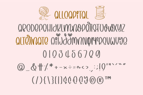Print on Demand: Playful Crafter Display Font By BitongType - Image 11